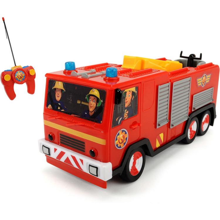 Image of Brandweerman sam - r/c brandweerauto jupiter