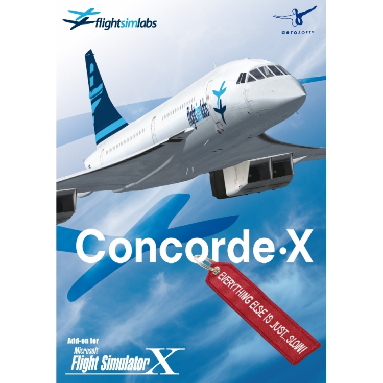 Image of Aerosoft Concorde X (FS X Add-On) PC
