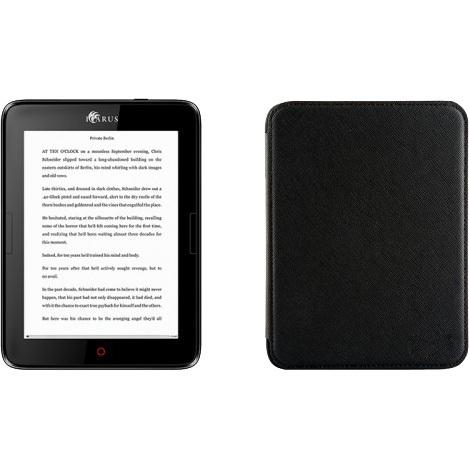 """Productafbeelding voor 'Illumina 6"""" e-reader E654BK met PU beschermhoes'"""