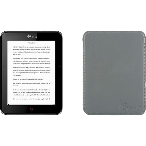 "Productafbeelding voor 'Illumina 6"" e-reader E654BK bundel'"