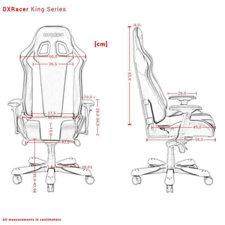 DXRacer OH-KS06-NW stoel