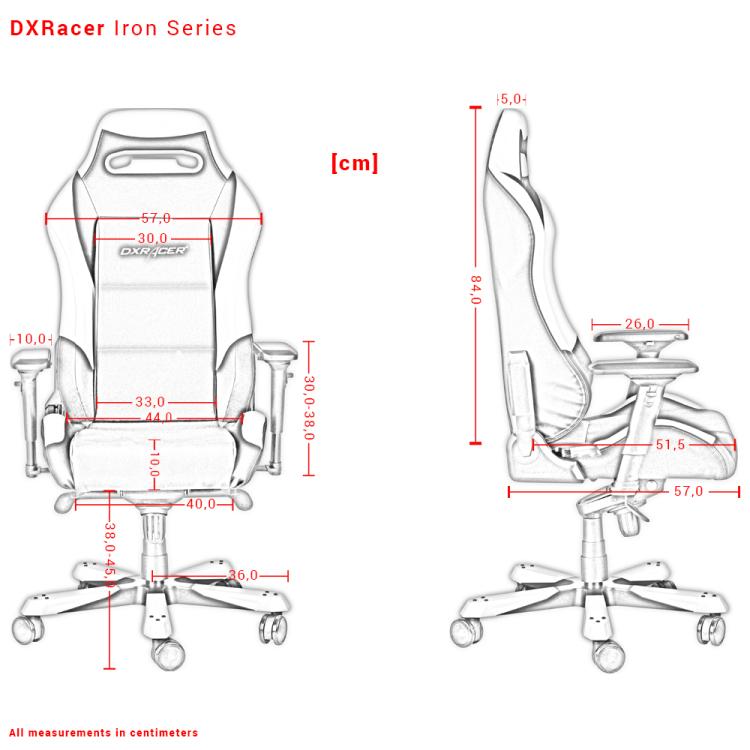 DXRacer OH-IS11-NR stoel