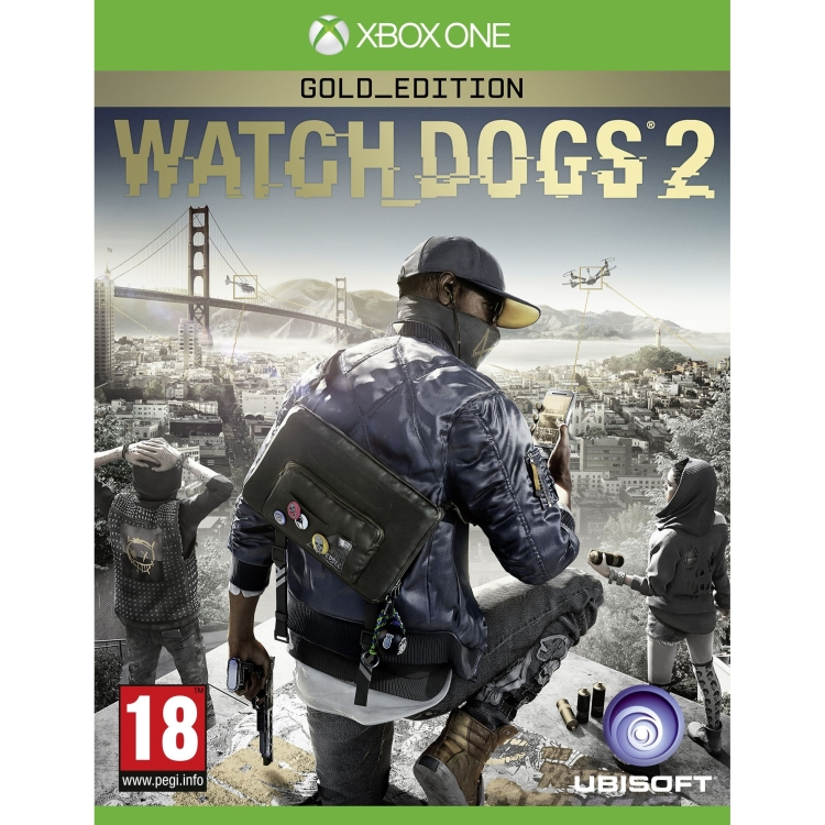 Ubisoft Watch Dogs 2 Gold edition