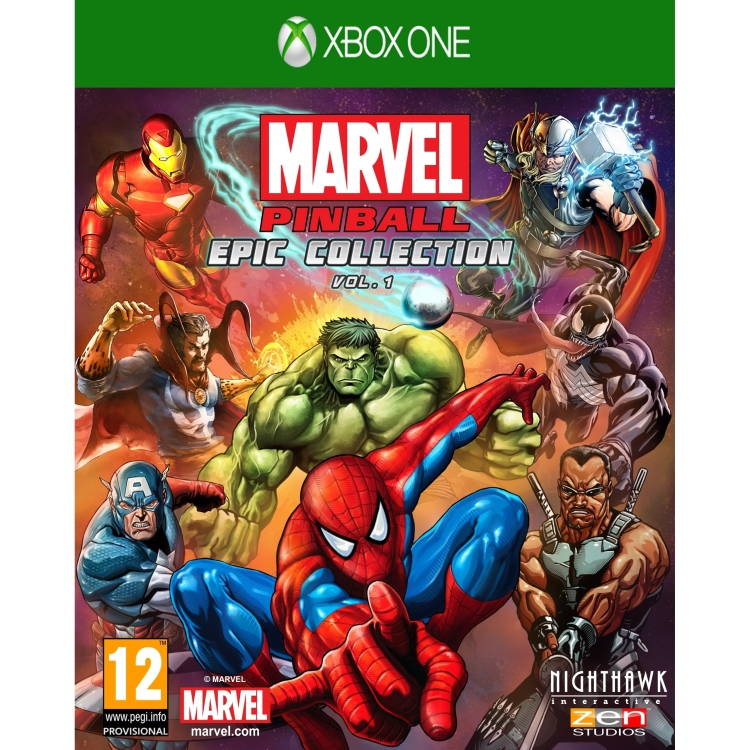 Image of 505 Games Marvel Pinball Xbox One