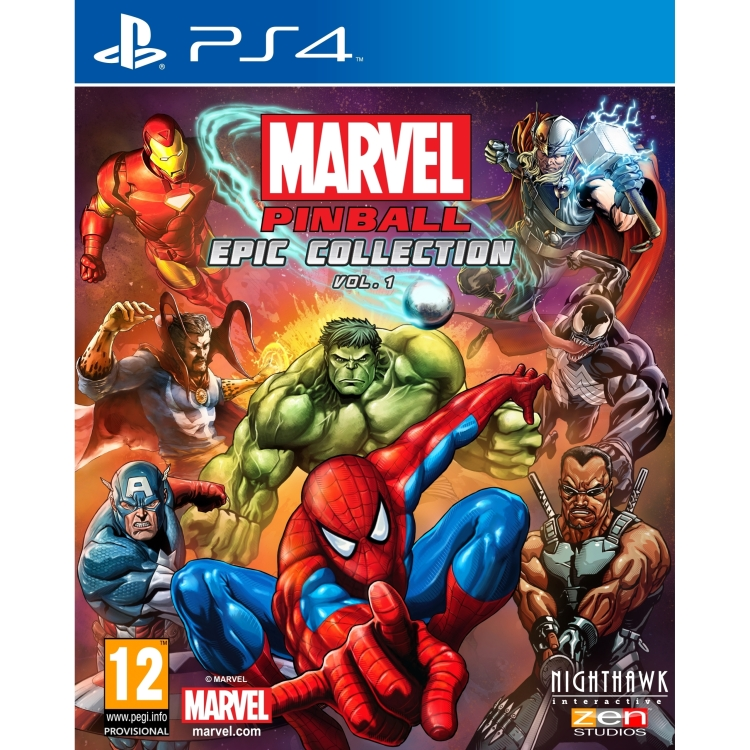 Image of 505 Games Marvel Pinball PS4
