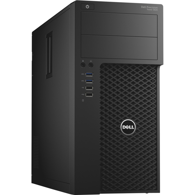 Image of Dell Preci T 3620 /Intel Xeon E 3 1245 v 5 / 16 GB/ 256 GB SSD/FirePro W 5100 /DVD RW/MUI W 7 Pro+W 10 /vPro/ 1 Yr NBD V88V2