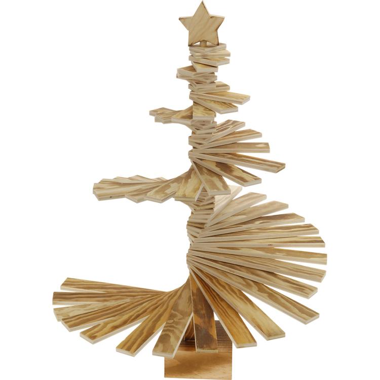 Houten kerstboom 3d kopen online internetwinkel for Arbre de noel en bois truffaut