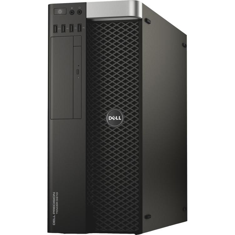 Image of Dell Preci T 5810 /Xeon E 5 1650 v 3 / 16 GB/ 256 GB SSD + 1 TB/Quadro M 2000 /DVD RW/Intel AHCI/MUI W 7 Pro+W 10 /vPro/ 3 Yr NBD TFFVV