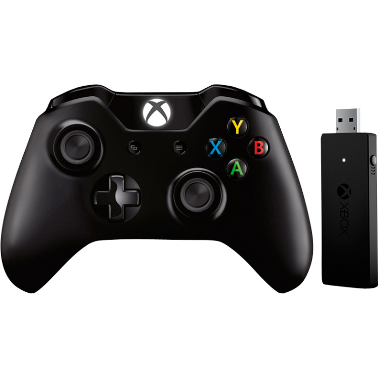 Productafbeelding voor 'Xbox One Controller + Wireless Adapter Windows 10'