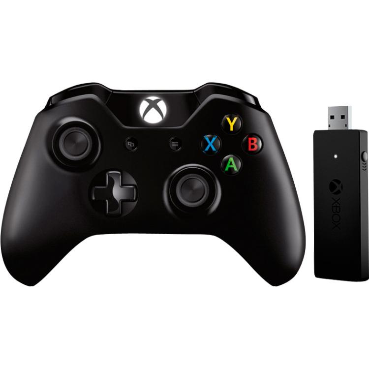 MS Gamep. Xbox One WL Controllerbk