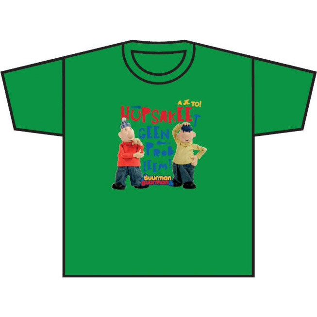 Image of T-shirt Groen, Maat 110/116