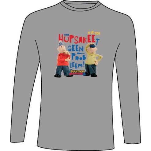 Image of T-shirt Grijs, Maat 122/128