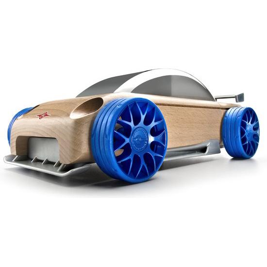 Image of S9-R Sport Sedan - Zilver/Blauw