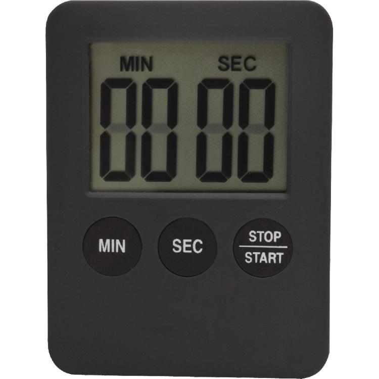 Balance HE-Clock-70 Digitalekookwekker Grijs-Zwart