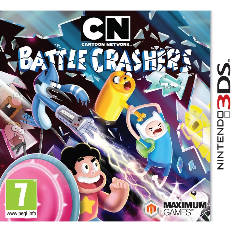 Image of 505 Games Cartoon Network, Battle Crashers 3DS