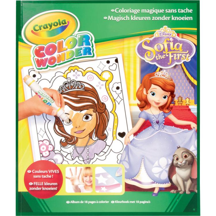 Image of Color Wonder - Kleurboek Sofia the first 18 blz.