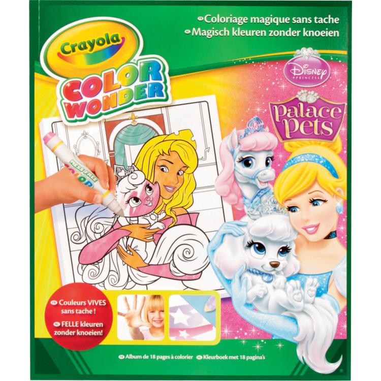 Image of Color Wonder - Kleurboek prinses 18 blz.
