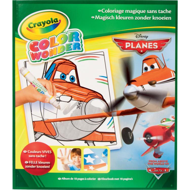 Image of Color Wonder - Kleurboek Planes 18 blz.