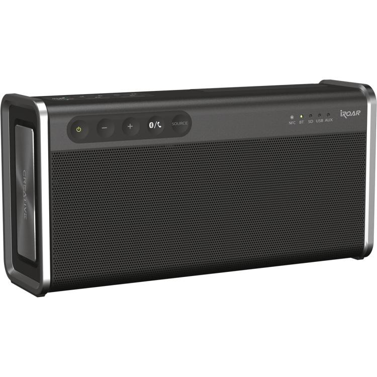Image of Bluetooth luidspreker Creative Labs SD, NFC, Spatwaterdicht, USB Zwart