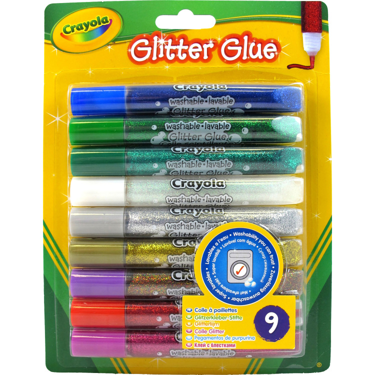 Image of 9 Glitterlijmtubes
