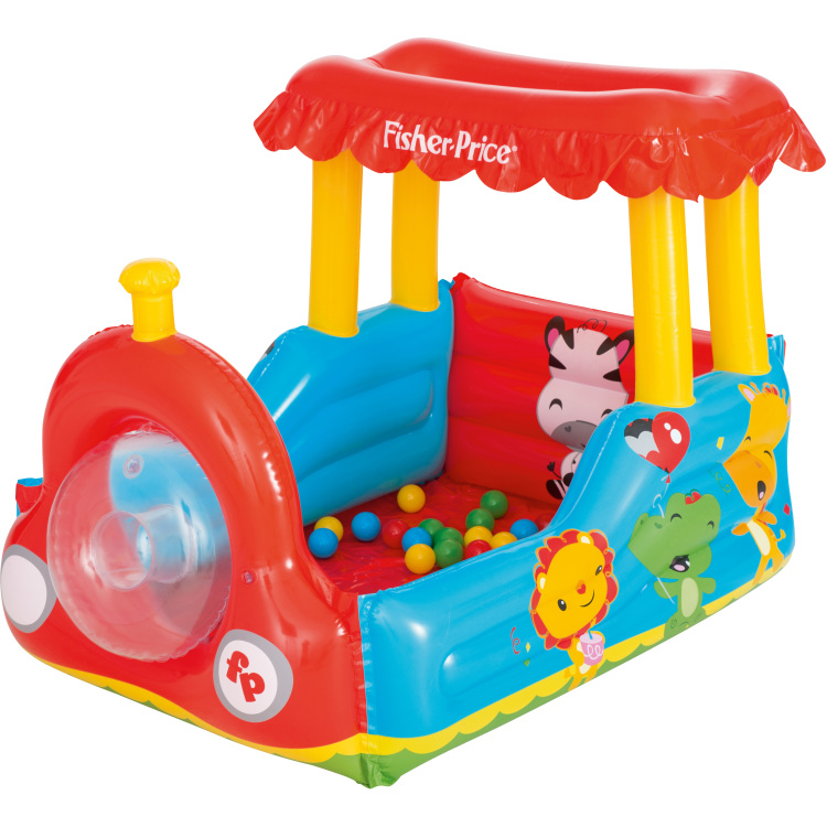 Image of Fisher-Price Trein Met Ballen
