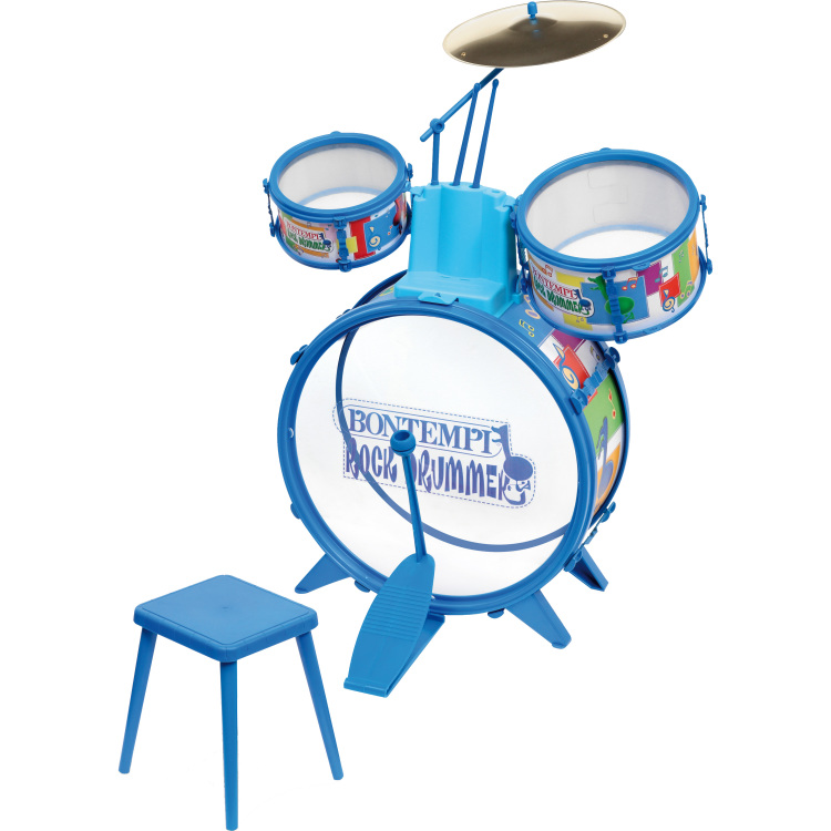 Image of Bontempi Drumset met Stoel