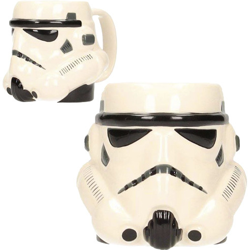 Productafbeelding voor 'Star Wars: Stormtrooper Head 3D Ceramic Mug'