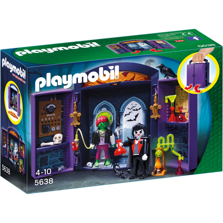 Playmobil Speelbox Spookhuis