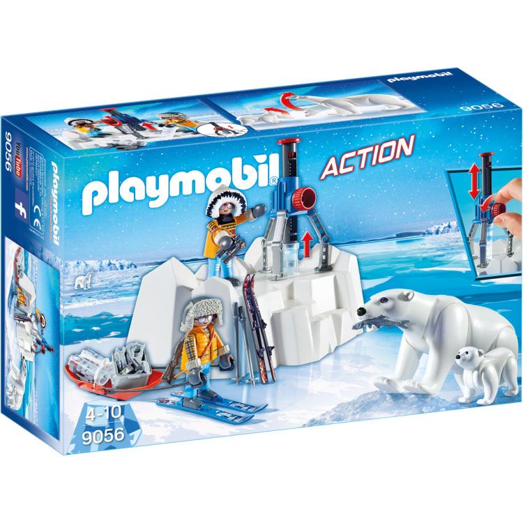 Poolreizigers met ijsberen Playmobil (9056)