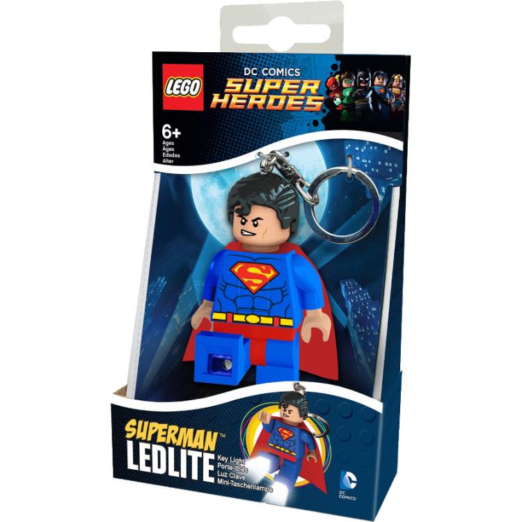Productafbeelding voor 'DC Comics Super Heroes - Superman sleutellampje'