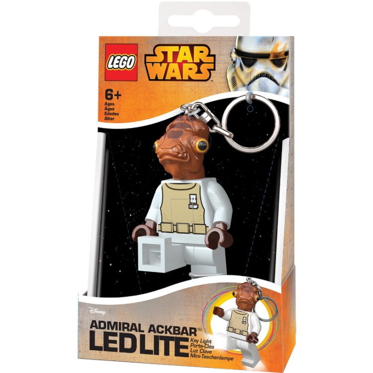 Productafbeelding voor 'Star Wars - Admiral Ackbar sleutellampje'