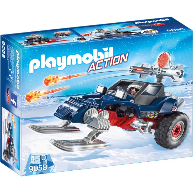 Sneeuwscooter met ijspiraat Playmobil (9058)