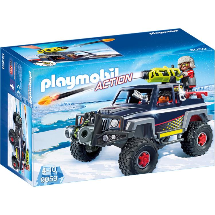 Sneeuwterreinwagen met ijspiraten Playmobil (9059)