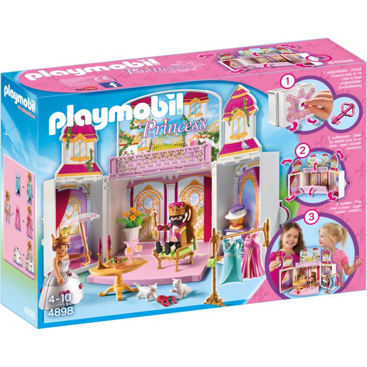 Speelbox Koninklijk hof Playmobil (4898)