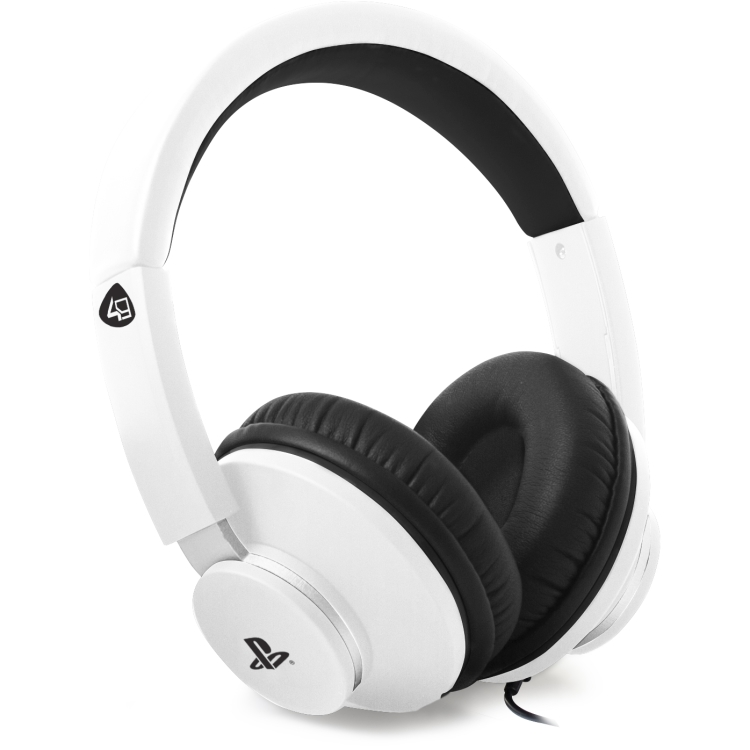 Image of 4Gamers PRO4-60WHT Stereo Gaming Headset (Wit) PS4