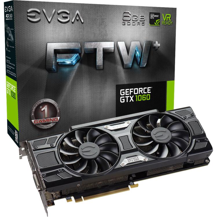 GeForce GTX 1060 FTW+ Gaming ACX 3.0