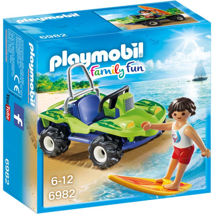 Playmobil Summer Fun Surfer met strandbuggy