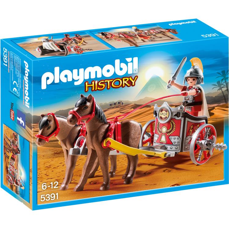 Playmobil History Romeinse strijdwagen met tribuun