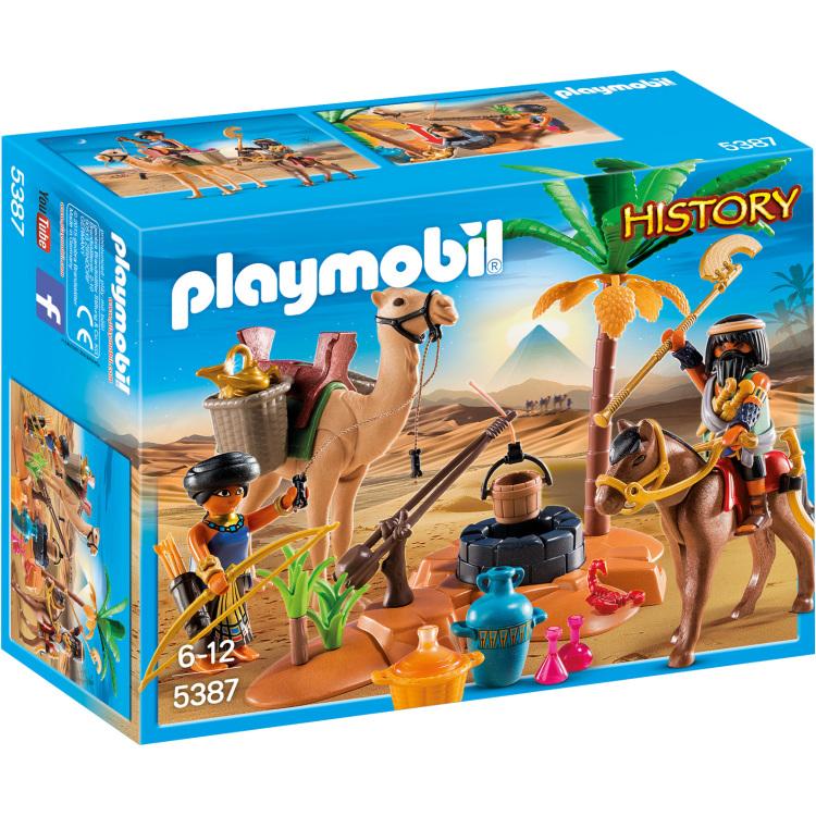 Playmobil History Grafrovers met Egyptische schatten