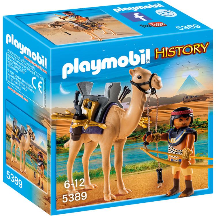 Playmobil History Egyptische krijger met dromedaris
