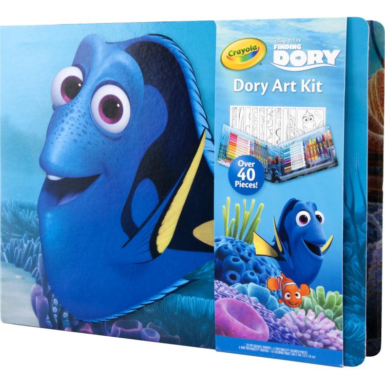Kleurkoffer Finding Dory Art Kit Finding Dory
