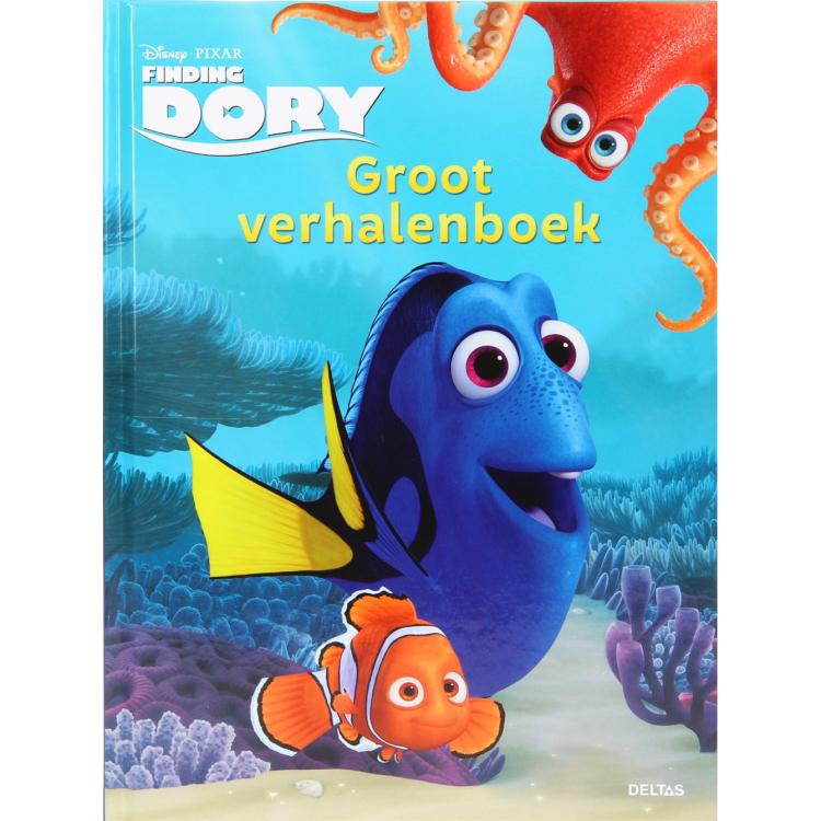 Image of Disney Pixar Finding Dory Groot Verhalenboek