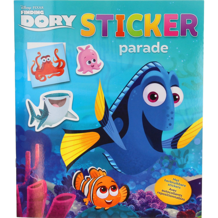 Image of Disney Pixar Finding Dory Stickerparade