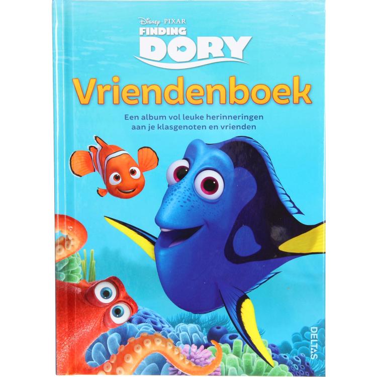 Image of Disney Pixar Finding Dory Vriendenboek