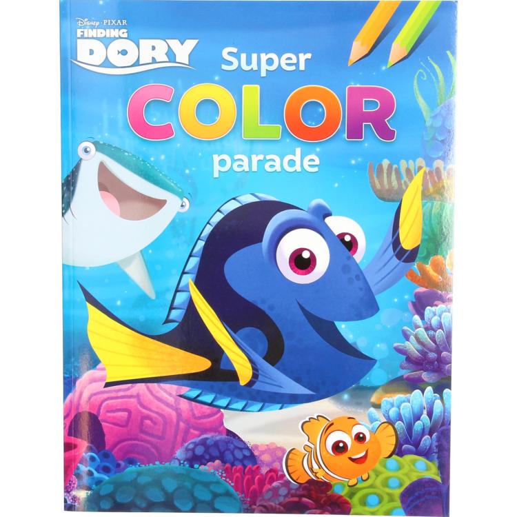 Image of Disney Pixar Finding Dory Super Color Parade
