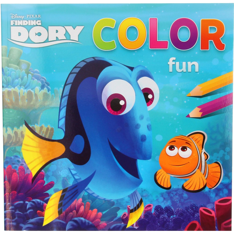 Image of Disney Pixar Finding Dory Color Fun