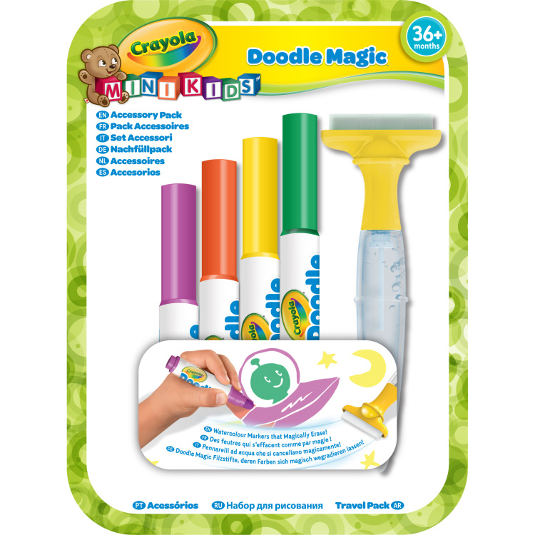 Viltstift Crayola Minikids 6-delig navulling assorti