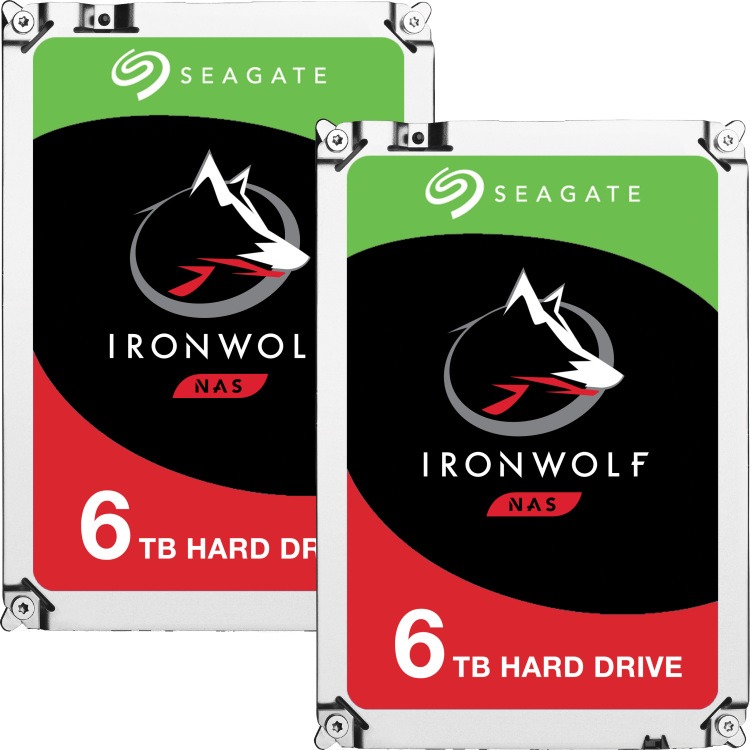 Productafbeelding voor 'IronWolf, 12 TB (2x 6 TB)'
