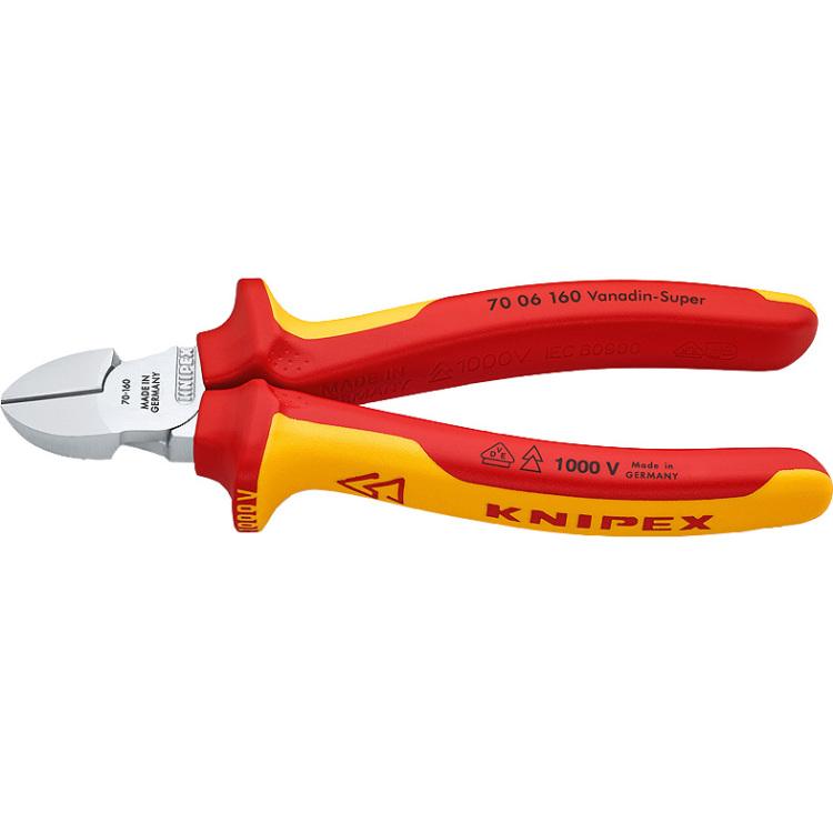 Zijsnijtang 7006-160 Knipex