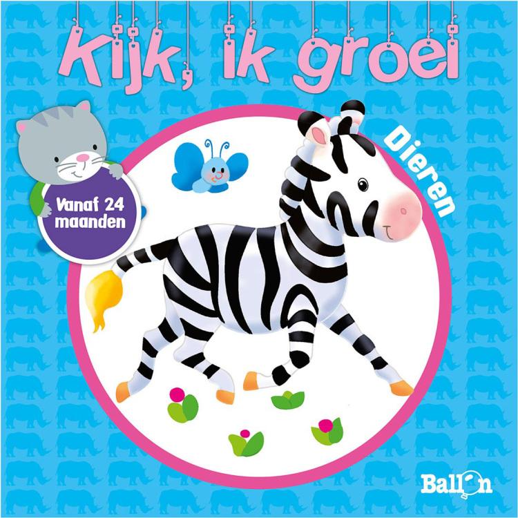 Image of Kijk, Ik Groei - Dieren Vanaf 24 Maanden
